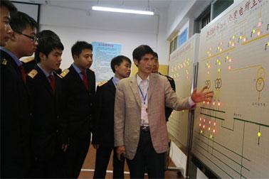 南昌向远轨道技术学校实训设施