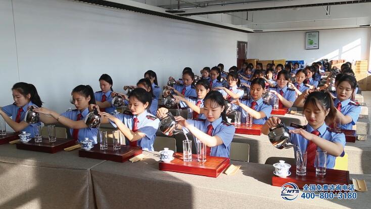 南昌向远轨道技术学校茶艺室