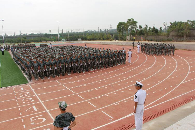 南昌轨道学校乐化校区半军事化的管理模式