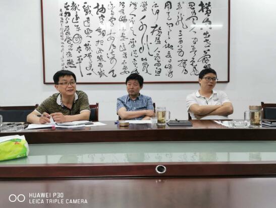 南昌市教科所领导来南昌向远轨道技术学校开展教学调研