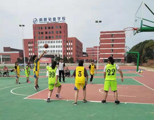 南昌向远轨道技术学校校篮球队