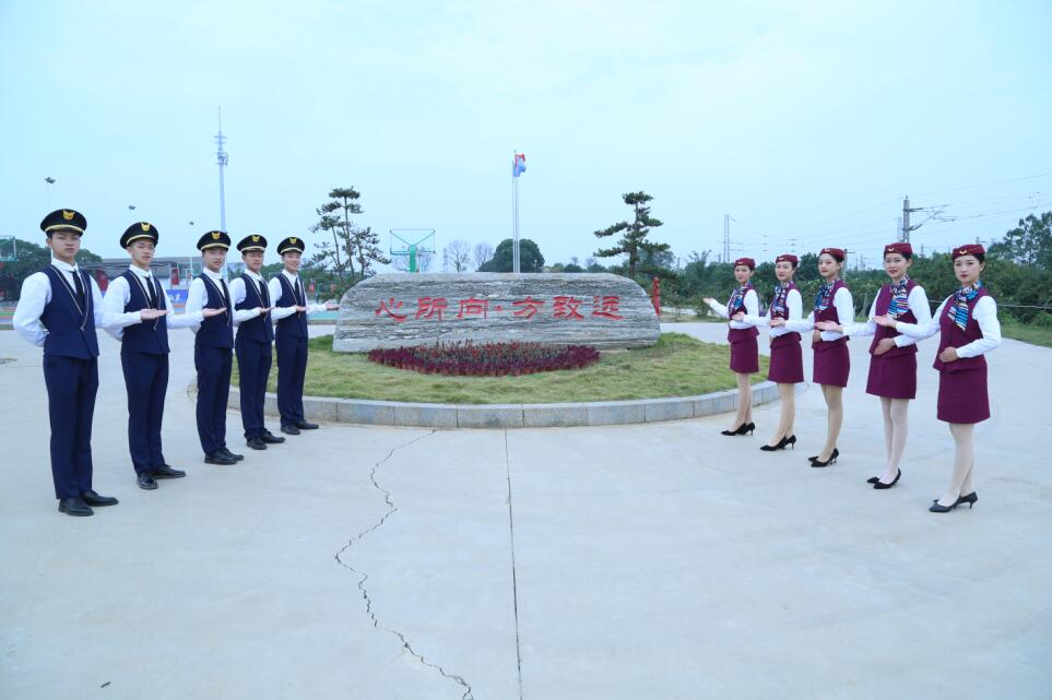 南昌向远轨道技术学校2021版校区浓郁和谐的校园文化